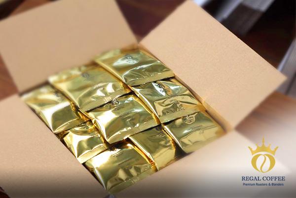 image of regal coffee packaging